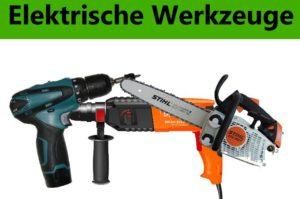 Ankauf von elektrischem Werkzeug