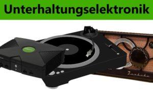 Wir kaufen Ihre defekten Audio, Video- und sonsitigen Unterhaltungsgeräte