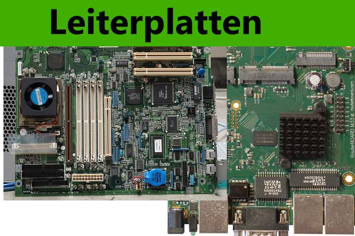 Leiterplatten / Mainboards / Platinen